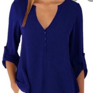 Women's chiffon dress shirt